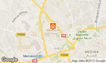 Carte Marrakech Appartement 85177