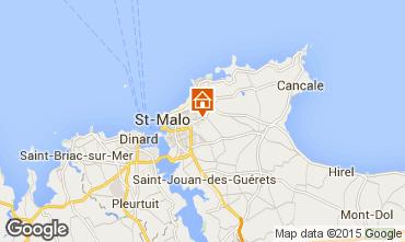 Carte Saint Malo Maison 69062
