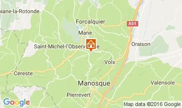 Carte Forcalquier Gite 106969