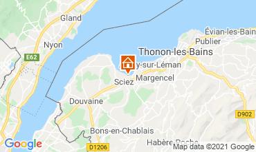 Carte Thonon Les Bains Chalet 14972