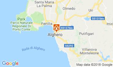 Carte Alghero Appartement 60593
