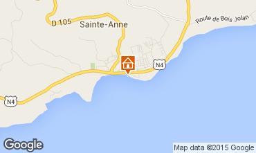 Carte Sainte Anne (Guadeloupe) Appartement 73786