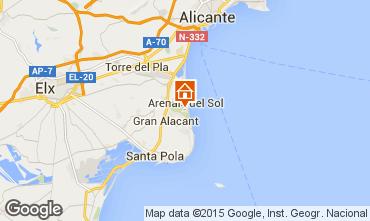 Carte Alicante Appartement 75868