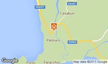 Carte Palinuro Appartement 42608