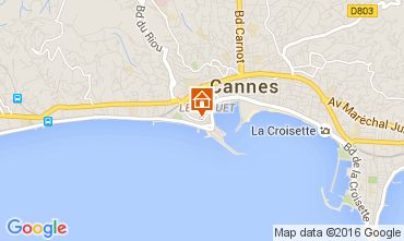 Carte Cannes Studio 72181