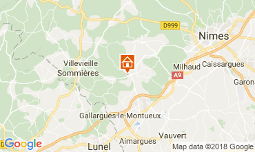 Carte Nîmes Villa 114057