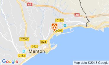 Carte Menton Appartement 113458