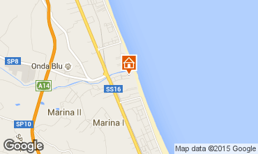 Carte Giulianova Appartement 23634