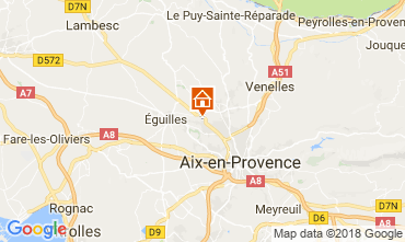 Carte Aix en Provence Appartement 115648