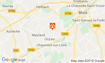 Carte Blois Mobil-home 117561