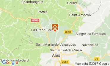 Carte Alès Villa 112619