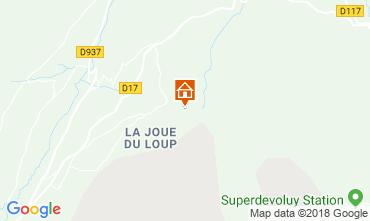 Carte Superdévoluy- La Joue du Loup Chalet 115811