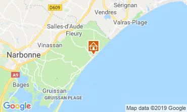 Carte Saint Pierre la Mer Villa 119043