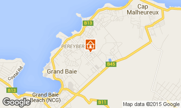 Carte Grand Baie Villa 5356