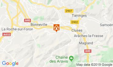 Carte Mont Saxonnex Chalet 92047