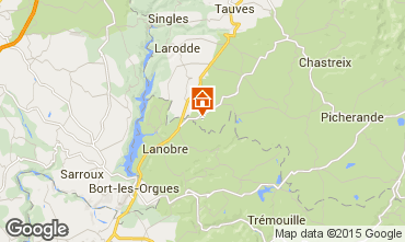 Carte Le Mont Dore Gite 80269