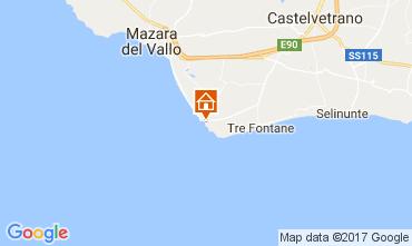 Carte Mazara del Vallo Appartement 105139