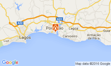 Carte Praia da Rocha Appartement 88423
