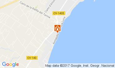 Carte Peñíscola Appartement 108944
