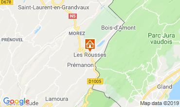 Carte Les Rousses Chalet 3770