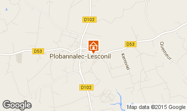 Carte Plobannalec-Lesconil Gite 96299