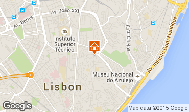 Carte Lisbonne Appartement 56054