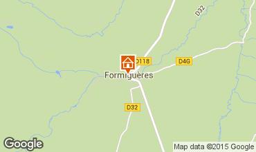 Carte Formiguères Maison 4019
