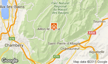 Carte Les Aillons Studio 64343