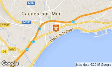 Carte Cagnes sur Mer Studio 88013