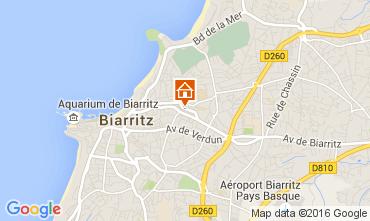 Carte Biarritz Studio 105855