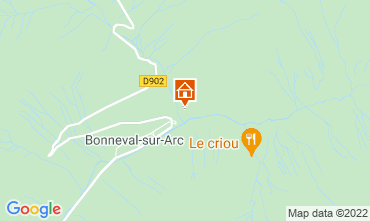 Carte Bonneval sur Arc Appartement 26003