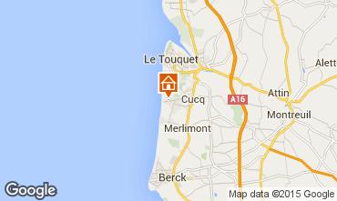 Carte Le Touquet Appartement 7752
