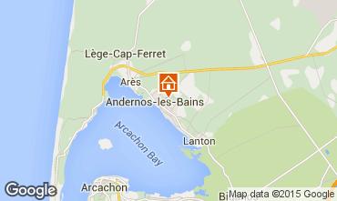 Carte Andernos les Bains Studio 81839