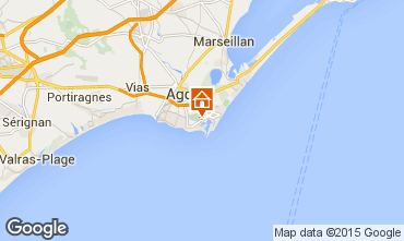 Carte Cap d'Agde Appartement 96930