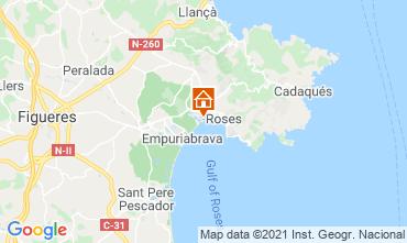 Carte Rosas Appartement 105098