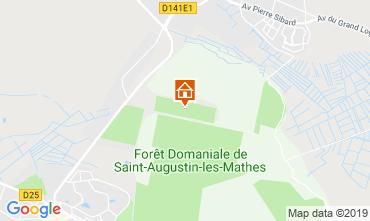 Carte La Palmyre Mobil-home 59404