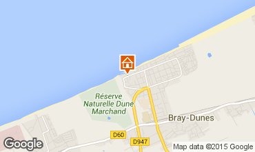 Carte Bray-Dunes Appartement 23618
