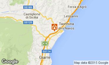 Carte Taormine Appartement 95139