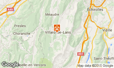 Carte Villard de Lans - Corrençon en Vercors Appartement 57741