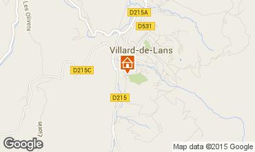 Carte Villard de Lans - Corrençon en Vercors Appartement 57741