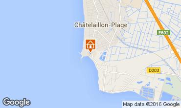 Carte Ch�telaillon plage Appartement 102634