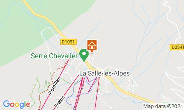 Carte Serre Chevalier Chalet 41653