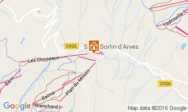 Carte Saint Sorlin d'Arves Appartement 27289