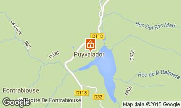 Carte Puyvalador Maison 4886