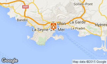 Carte La Seyne sur Mer Studio 99731
