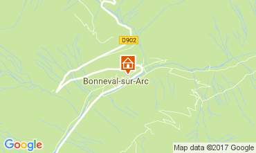 Carte Bonneval sur Arc Appartement 101768