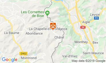 Carte La Chapelle d'Abondance Chalet 16141