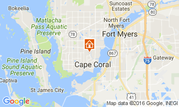 Carte Cape Coral Villa 106569