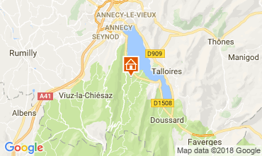 Carte Annecy Appartement 114387