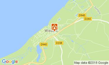 Carte Wissant Gite 113121